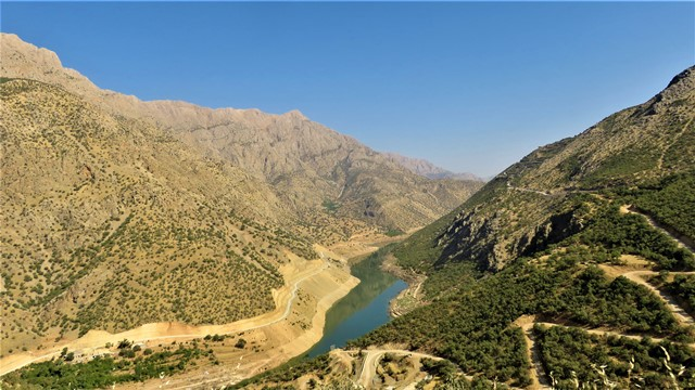 Iran Kurdistan paysage