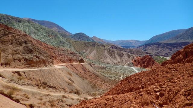Argentine Quebrada de Humahuaca Purmamarca