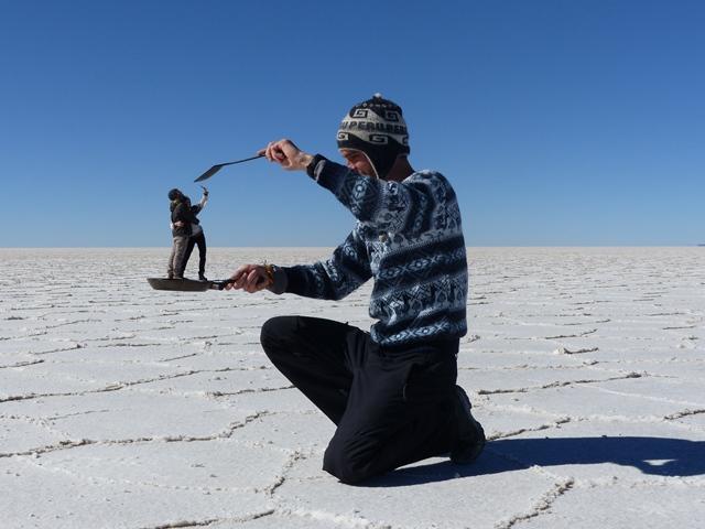 Bolivie Salar de Uyuni photos perspectives