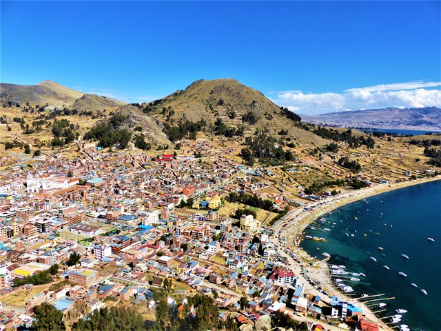 Bolivie Copacabana Calvario