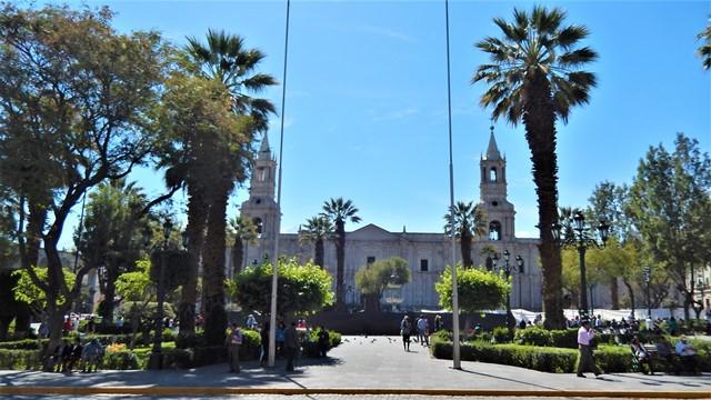 Pérou Arequipa Plaza de Armas