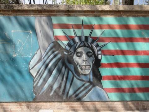 Iran Téhéran Ambassade US