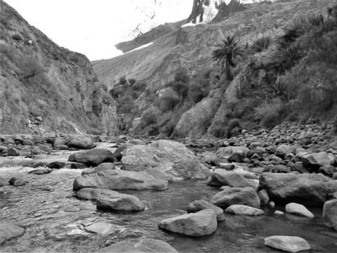 Pérou Cañon del Rio Colca oasis de Sangalle