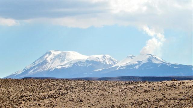 Pérou Arequipa mirador de los volcanes