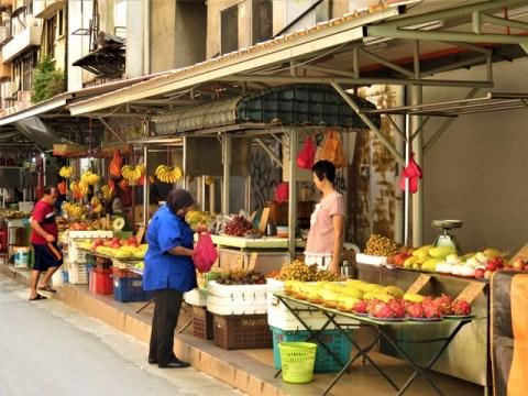 Malaisie Kuala Lumpur marché