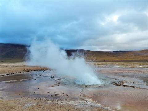 Chili san pedro de Atacama geysers du Tatio