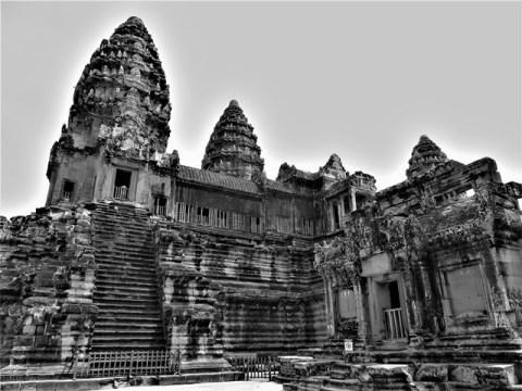 Cambodge Angkor War