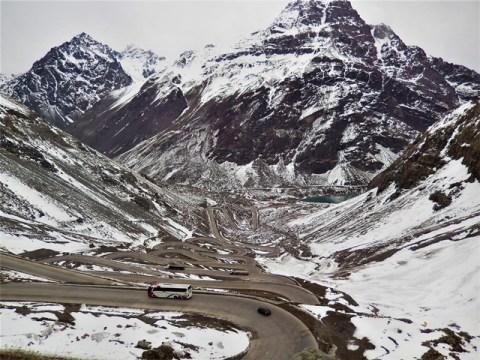 Chili Route des Andes Frontière Mendoza à Santiago