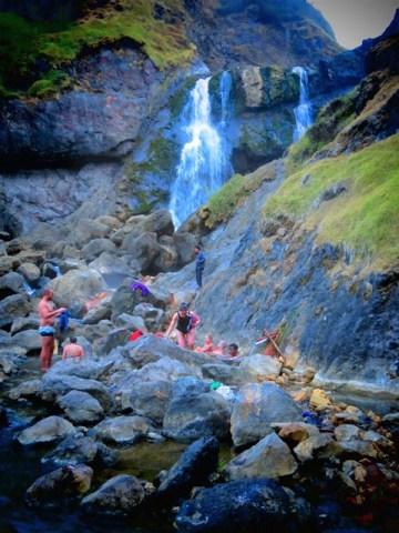 Lombok rinjani source eau chaude