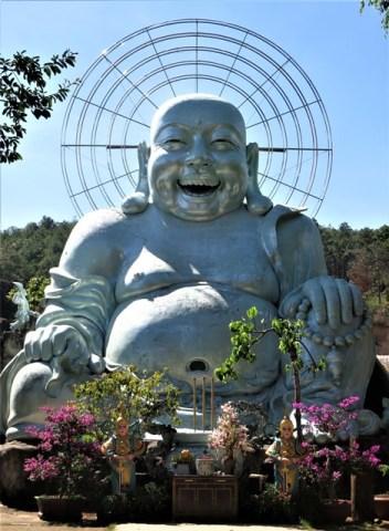 Vietnam Dalat Happy Bouddha
