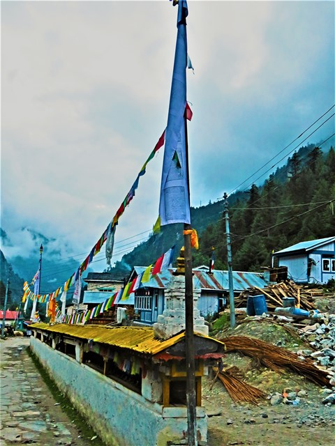 Népal Trek Circuit des Annapurnas Chame