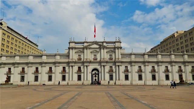 Chili Santiago palais présidentiel de la Moneda