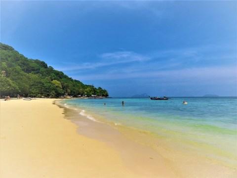 Thaïlande Koh Phi Phi plage de Ran Tee