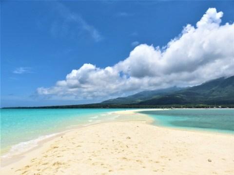 Philippines Camiguin white island