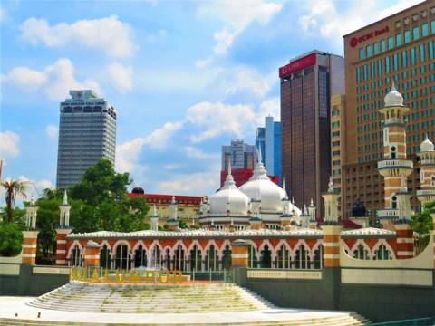 Malaisie Kuala Lumpur mosquée