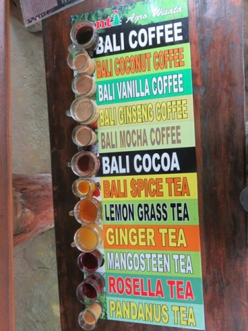 Bali Ubud café