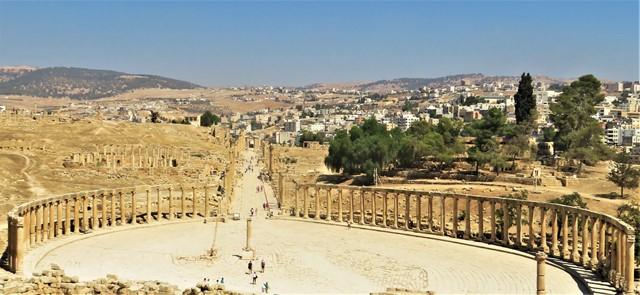 Jordanie Jerash panorama