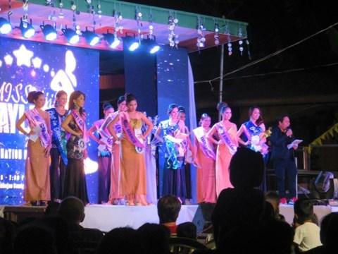 Philippines Camiguin fiesta miss