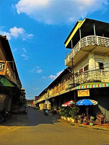 Cambodge Battambang centre-ville