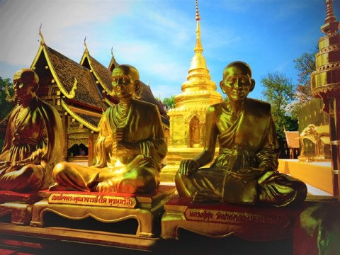 Thaïlande Chiang Mai temple
