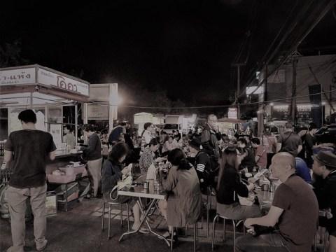 Thaïlande Chiang Mai night market