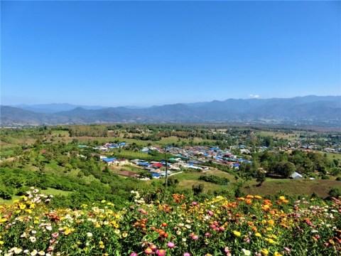 Thaïlande Pai point de vue Yun Lai