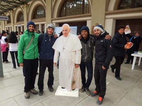 Bolivie La Paz Pape