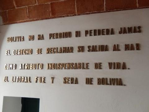 Bolivie La Paz musée du littoral bolivien