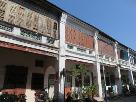 Malaisie George Town shophouse