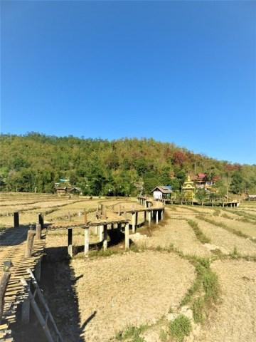 Thaïlande Pai pont en bambou