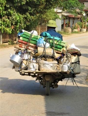 Laos Vang Vieng scooter
