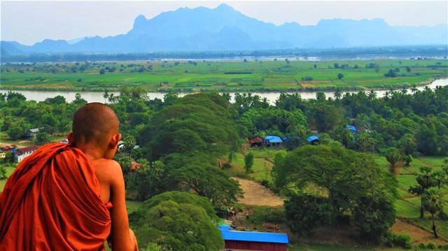 Myanmar Hpa-An grotte Kaw Gone