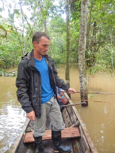 Pérou Amazonie pêche piranha