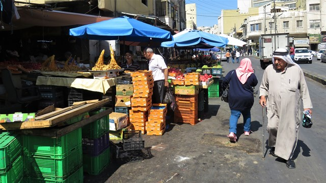 Jordanie Amman marché