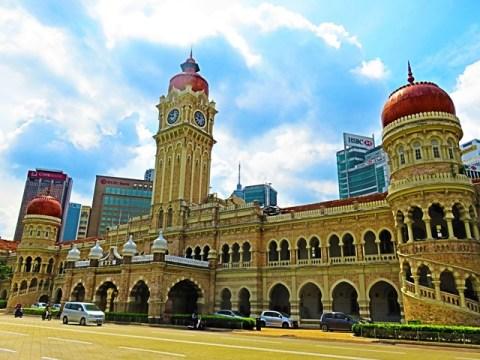 Malaisie Kuala Lumpur merdaka square