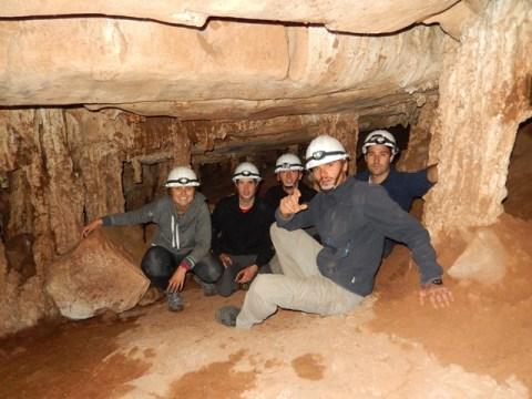 Bolivie Parc Torotoro grotte d'Umajalanta
