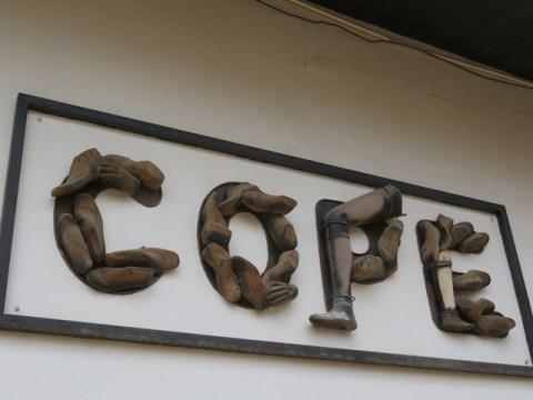 Laos Vientiane musée COPE