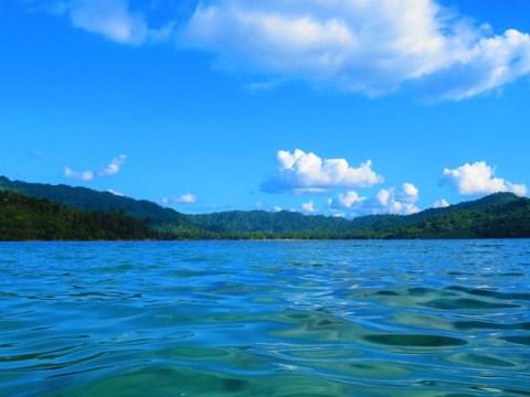 Philippines Port Barton baie de Pagdanan