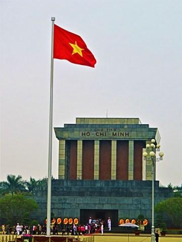 Vietnam Hanoï Mausolée de Hô Chi Minh