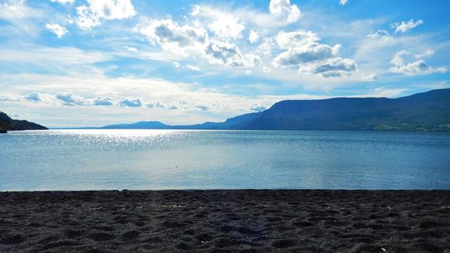 Chili Pucon lac Villarica