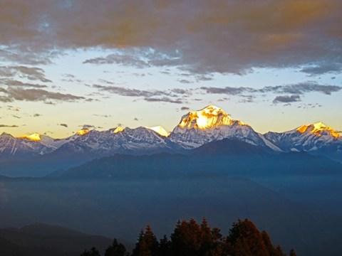 Népal Trek Circuit des Annapurnas Poon Hill Dhaulagiri