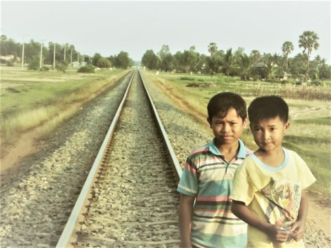 Cambodge Kampot enfants