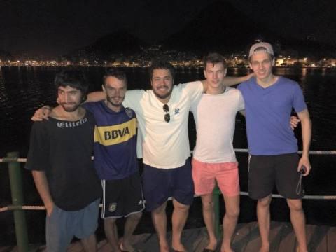 Brésil Rio de Janeiro Ipanema Lac