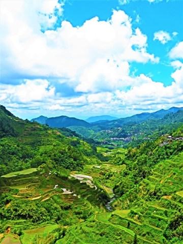 Philippines Banaue viewpoint rizières