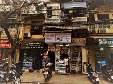 Vietnam Hanoï quartier des 36 corporations