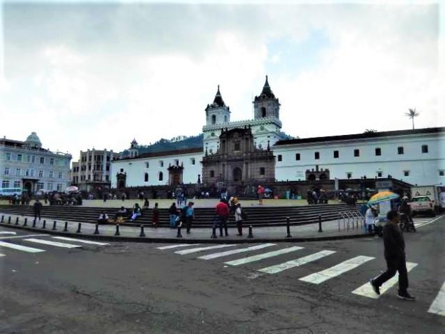 Equateur Quito centre historique