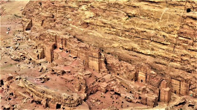 Jordanie Pétra randonnées haut-lieu du sacrifice