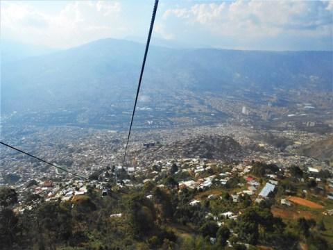 Colombie Medellin téléphérique
