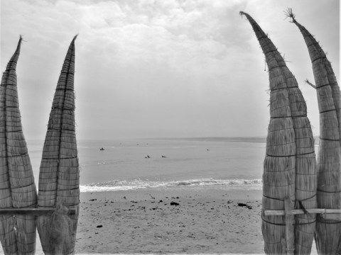 Pérou Huanchaco plage