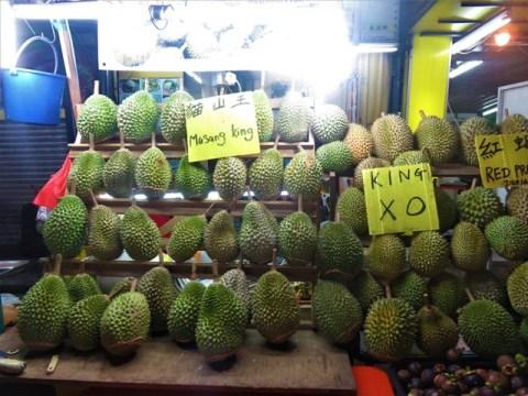 Malaisie Kuala Lumpur durian